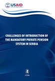 Challenges of Introduction of the Mandatory Private Pension System in Serbia